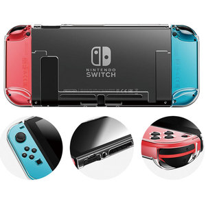 Image 4 - Detachable Crystal PC Transparent Case For Nintendo Nintend Switch NS NX Cases Hard Clear Back Cover Shell Coque Ultra Thin Bag