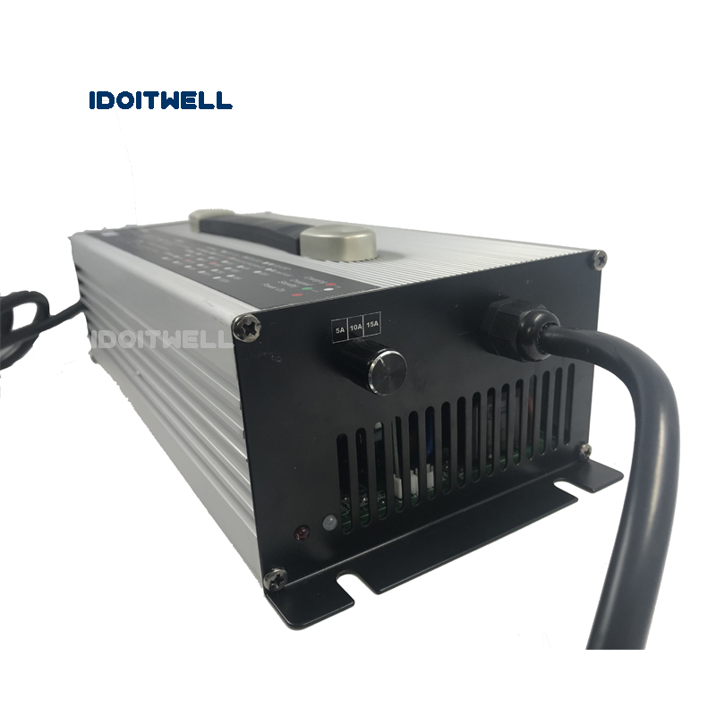 Customized 22A 20A 10A Battery Charger 84V current 3 stages adjustable charger for 84V lead acid or lithium or lifepo4 battery