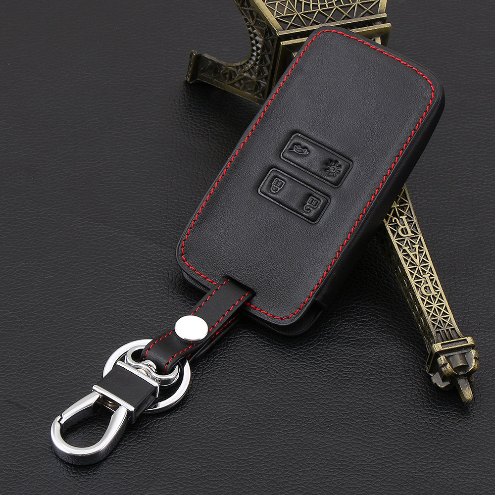 vciic leather car key card cover case fit for renault. Black Bedroom Furniture Sets. Home Design Ideas