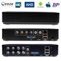 4 canales 8 canales dvr ahd ahdm 720 p/960 h de seguridad cctv dvr 4ch 8ch mini híbrido hdmi dvr ip soporte/analógico/ahd cámara