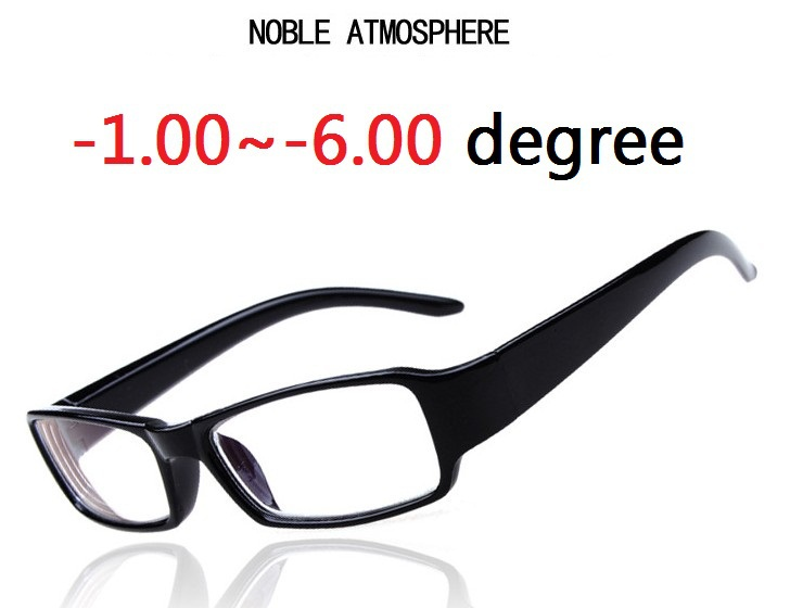 -1.00~6.00 Degree Reading Glasses Fashion Brand nearsighted glasses Design Eyewear For Men Women Boys Girls Read Glasses