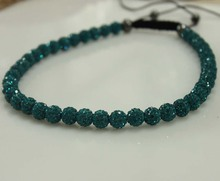 women blue wholesale shamballa necklace fashion shamballa free shipping