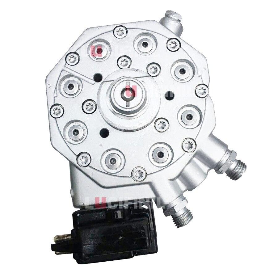 LuCIFINIL 8 цилиндров распределитель топлива с черным датчиком подходит для Mercedes-Benz R129 500SL 420SEL 560SEL 560SEC 0438101016