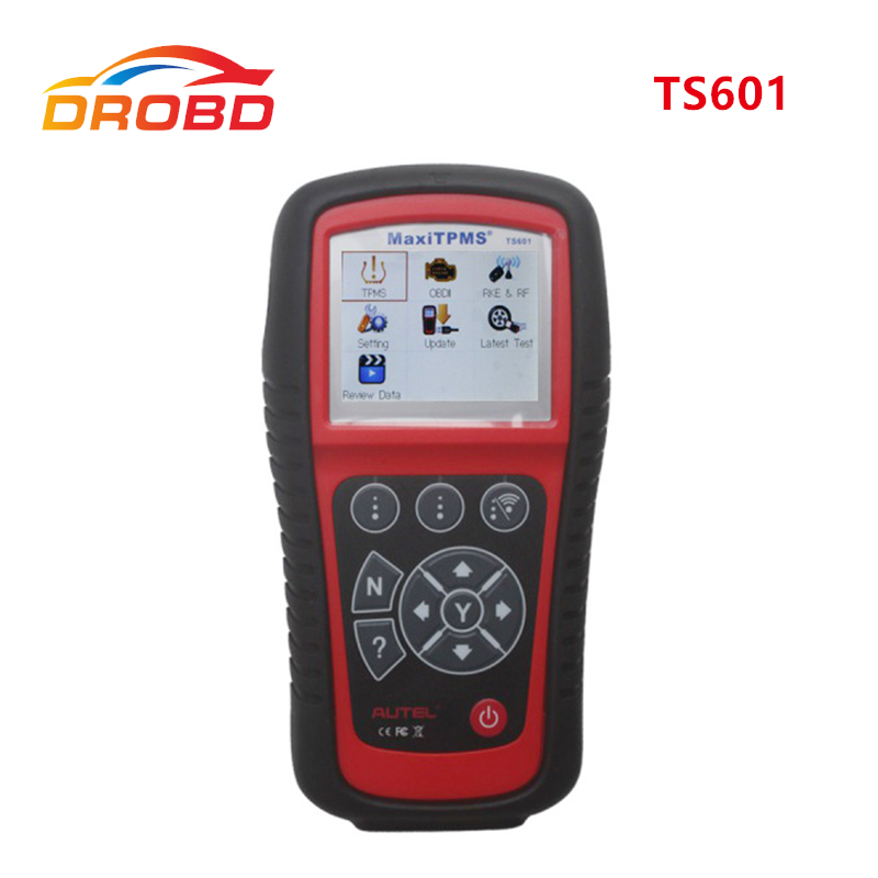 Professional TPMS Original <font><b>Autel</b></font> <font><b>MaxiTPMS</b></font> <font><b>TS601</b></font> the most powerful TPMS Diagnostic And Service Tool TPMS Update Online image