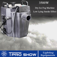 3500W Fog Machine Ground Smoke Machine Dmx Dry Ice Low Lying Fog Covered 200 Sqm Stage Wedding Party Dance Floor DJ Disco Club