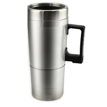 Heißer Wasser Heizung Becher für Auto-Auto Elektrische Wasserkocher Beheizte edelstahl Tragbare Heizung Tasse mit Ladegerät 12 Volt /24 Volt