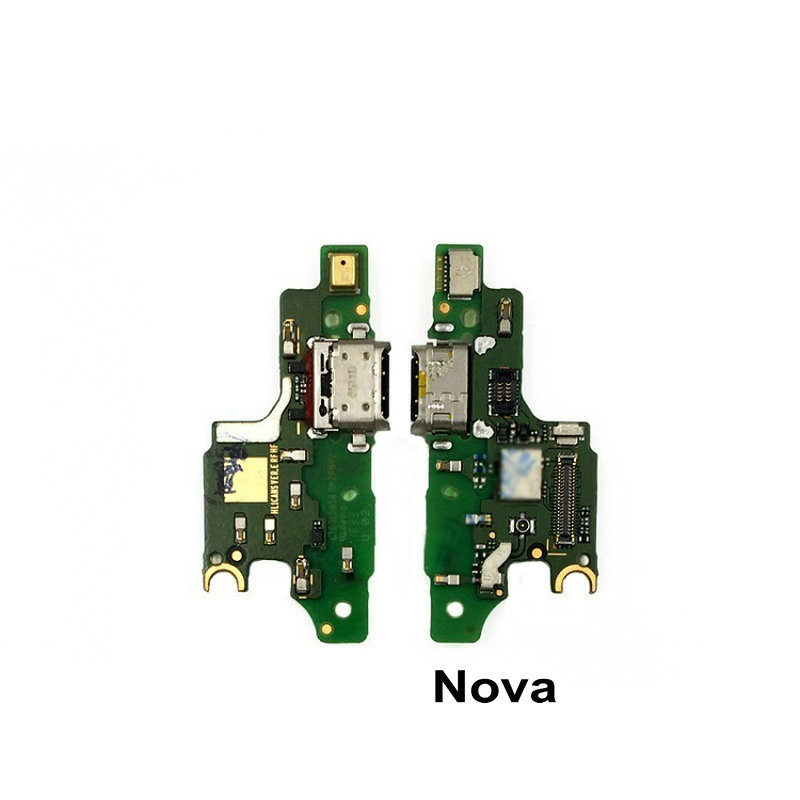 Original For Huawei Nova CAZ-TL00/AL00 USB Charging Charger Port Dock Connector Flex Cable With Microphone