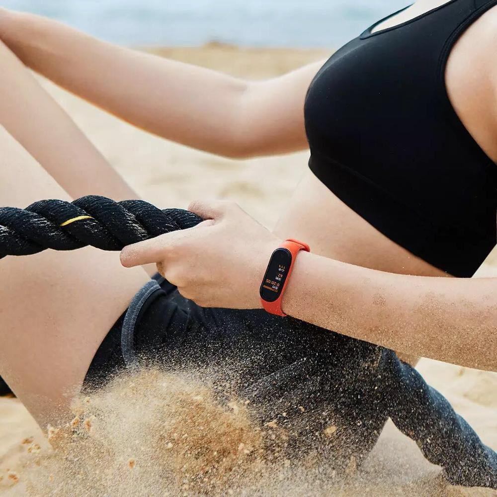 Xiaomi Mi SmartWatch or Smart Band for Fitness Tracking with Pedometer and Bluetooth 5.0 4