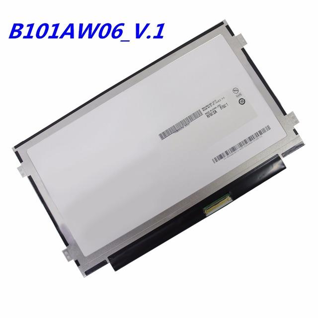 Envío libre B101AW06 V.0 V.1 R5 BA101WS1-100 M101NWT2 B101AW02 N101L6-L0D N101LGE-L41 LTN101NT05 LTN101NT08 1024X600 DELGADA