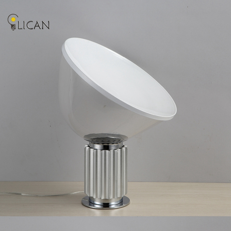 LICAN taNew Nordic Bedside Lamp Modern Creative Black Metal Table Light Bedroom Reading Nightlight Study Room Office Desk Lights
