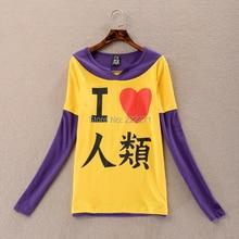 Anime NO GAME NO LIFE Cosplay Costuome Sora T-shirt Shirt Tee Free Track +Track NO