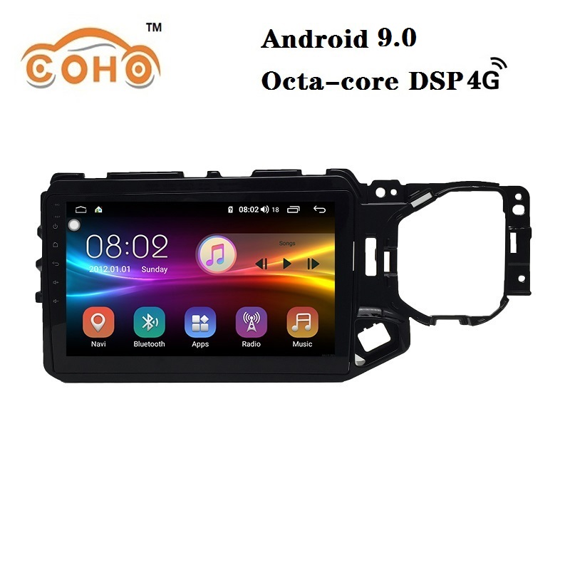 Tiggo 4X/5X Android 9.0 8-core IPS Screen radio <font><b>carro</b></font> autos car navigation system for 2017-2019 Chery Tiggo 4X/5X image