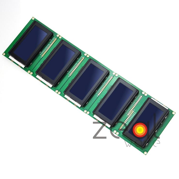 5Pcs/Lot 5V 16x4 16*4 LCD Display Module 1604 LCM Character With Blue Blacklight