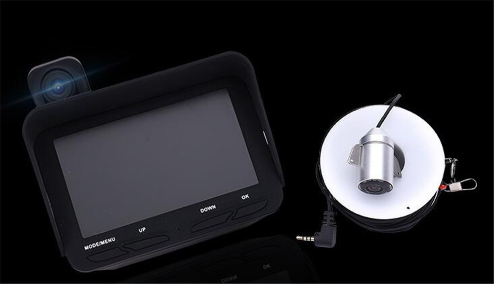 4,3 Zoll Dual Lens 720 P 20 Mt Kamera Unterwasserfischen Endoskop Kamera