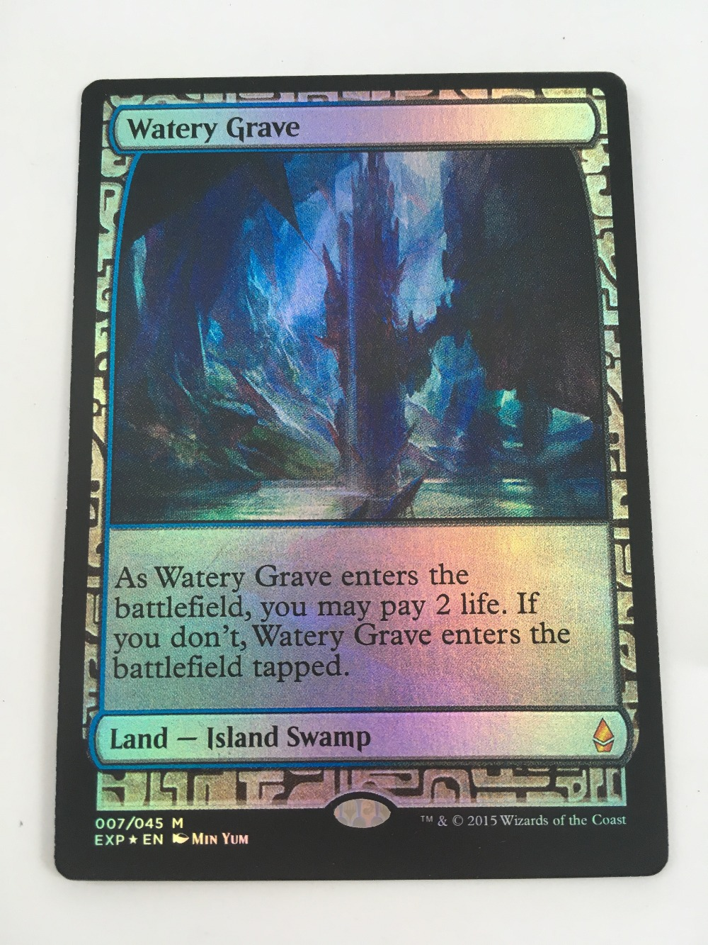 Holofoil Expeditions Lands Shock Lands Fetch Rudyron Villa Zheng 8.0 Magic Vz Vip The Mtg Proxy 52pcs Gathering Two Foil Lists Entertainment Sports & Entertainment