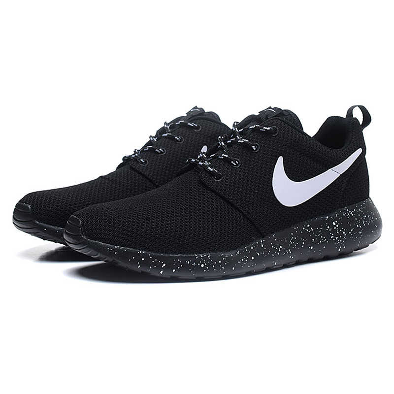 regarder f1515 9885c Nike Roshe Run Women's Running Shoes,Original Women Outdoor Sports Sneakers  Trainers Shoes,Breathable Air Mesh Shoes