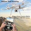 Профессия Большой Беспилотный 6-осевой Вертолет quadrotor H899 2.4 г можете Добавить FPV wi-fi 5MP Камера vs Drone x101 x8c x8w x8g Тарантул X6