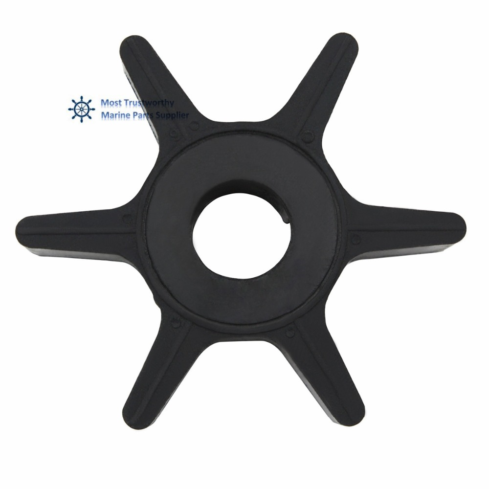 US $6 0 20% OFF|New Water Pump Impeller for Chrysler Force Mercury 25 50 HP  2 Stroke Outboard Motors 47 F433065 2-in Boat Engine from Automobiles &