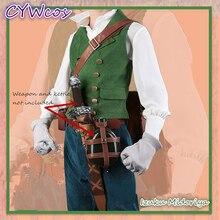 My Hero Academia Izuku Midoriya deku Anime Cosplay Costume Male Uniforms Suits Performance Shirt+Vest+Pants+Belt
