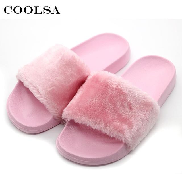 En peluche chaude anti-dérapant femmes flip flops/chaussures Accueil , 7 , 38