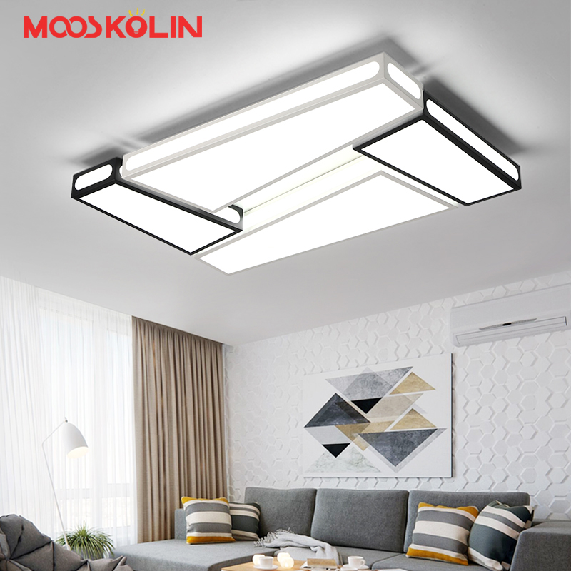 modern led ceiling chandelier lights for living room bedroom Dining Study Room White and Black AC85-265V Chandeliers Fixtures new original replacement projector color wheel for benq w1070 w1080st w1075 w1070 v w1085 vh570 vh580st w20aa dlp projector