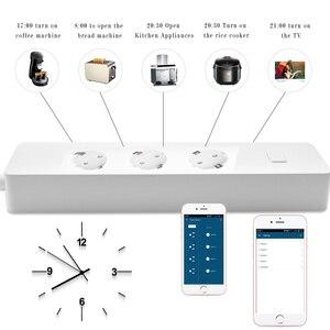 Image 4 - Inteligentna wtyczka, listwa zasilająca, WiFi Surge Protector czasomierz bezprzewodowy gniazdo współpracuje z Google Home, Alexa