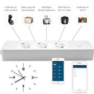 Image 4 - חכם תקע, רצועת כוח, WiFi Surge מגן Wireless טיימר עובד עם Google בית, Alexa