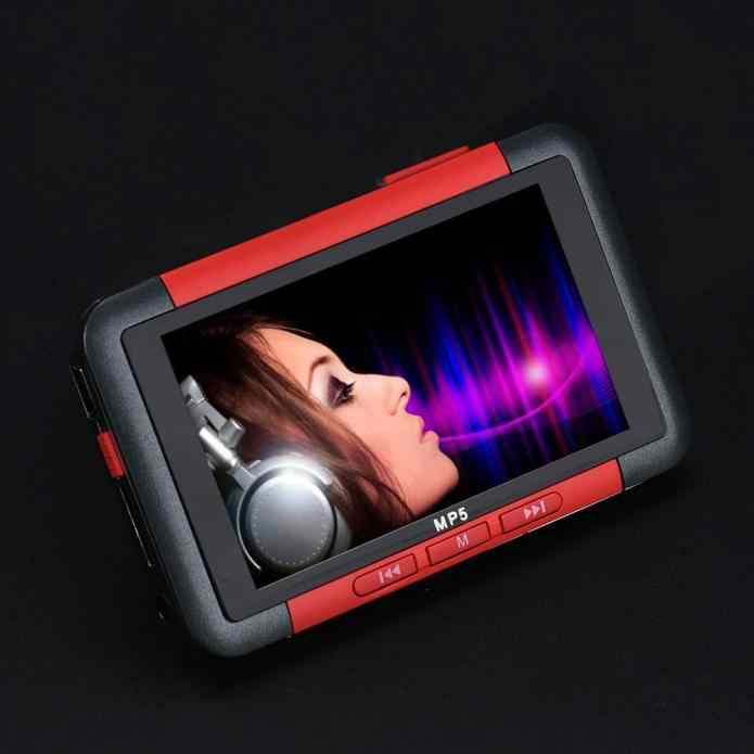 usb charging music video mp3 MP4 player 8GB Slim MP3 MP4 MP5 Music Player With 4.3 inch LCD Screen FM Radio Video Movie 2019