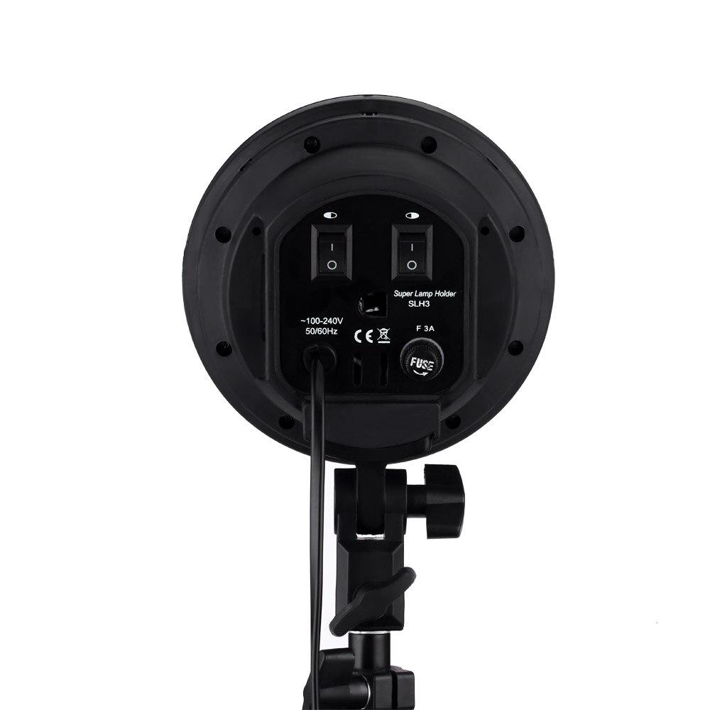 Cymye foto de estudio de EC01 8 LED 24 w Softbox luz Kit de cámara y accesorios de la foto - 5