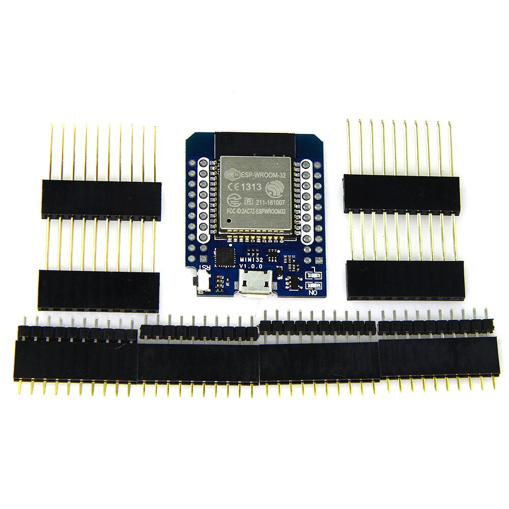 MINI D1 ESP32 WiFi Module Bluetooth development board Black module xilinx xc3s500e spartan 3e fpga development evaluation board lcd1602 lcd12864 12 module open3s500e package b