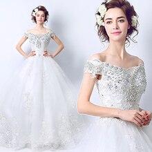 2017 new stock plus size women pregnant bridal gown wedding dress diamond  ball gown Luxury bling 618c26b994ce