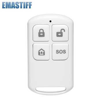 EN RU ES PL DE TFT Display Screen Wireless Home Security WIFI GSM Alarm system SMS APP Remote Control RFID card Arm Disarm