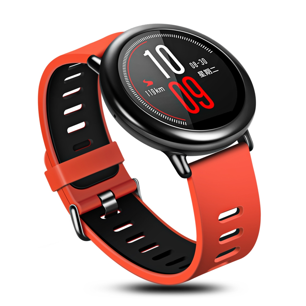 Original Xiaomi Huami Smart Watch AMAZFIT Waterproof GPS Running Bluetooth 4 0 Fitness Sports Smart Watch