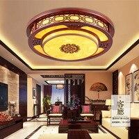 High Quality Wooden Led Ceiling Light Lamp 110V 220V Led Lighting Bedrooms Chinese Ceiling Lights Led