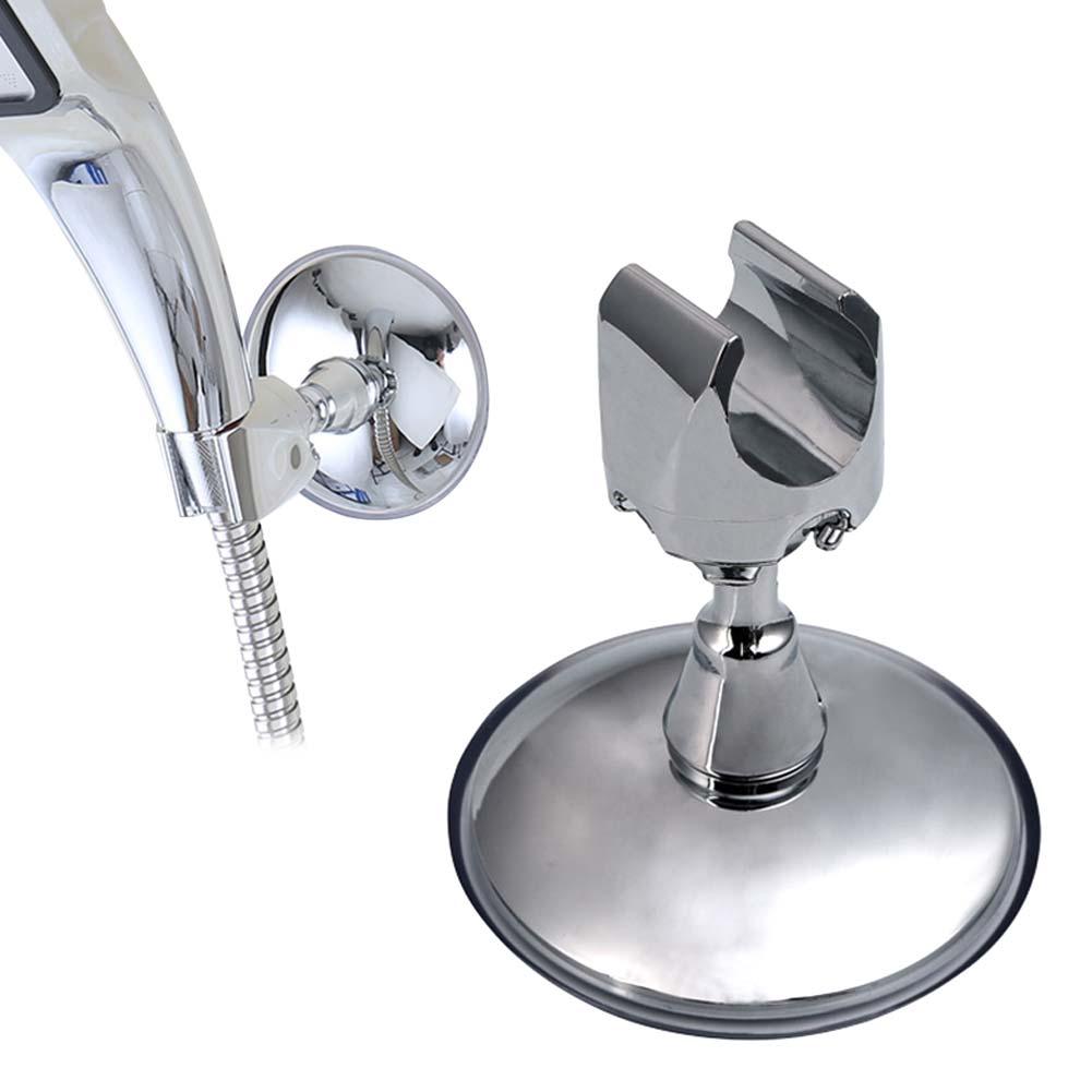 360 Adjustable Bathroom Strong Sucker Shower Head Bracket Holder Suction Mount 8 New