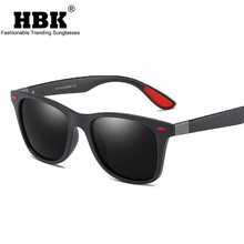 HBK 2018 Sport Delicate Polarized Sunglasses Fashion Square Shades Male Sun Glasses For Driving Vintage Eyewear Men UV400 PM0016