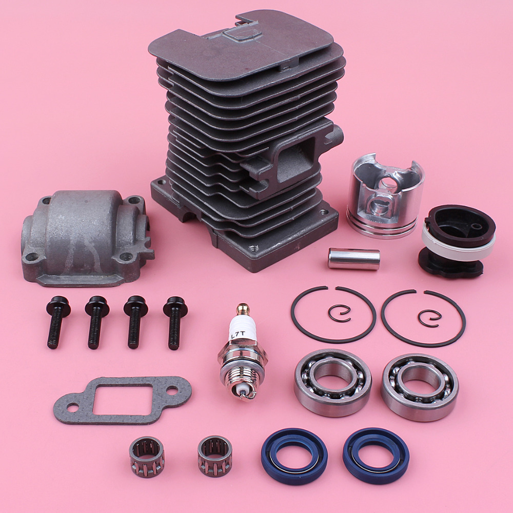Tools : 38mm Cylinder Piston Engine Pan Base Crank Bearing Oil Seal Kit For Stihl MS180 018 MS 180 Chainsaw Spare Part