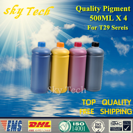 500ML*4  Pigment ink suit for Epson T2991 - T2994 , suit for Epson XP-235 XP-245 XP-247 XP-332 XP-335 XP-342 XP-345 XP-432 north americal t410 t410xl t410xl0 t410xl4 refill ink cartridge for epson xp 530 xp 630 xp 540 xp 640 xp 900 printers with chip