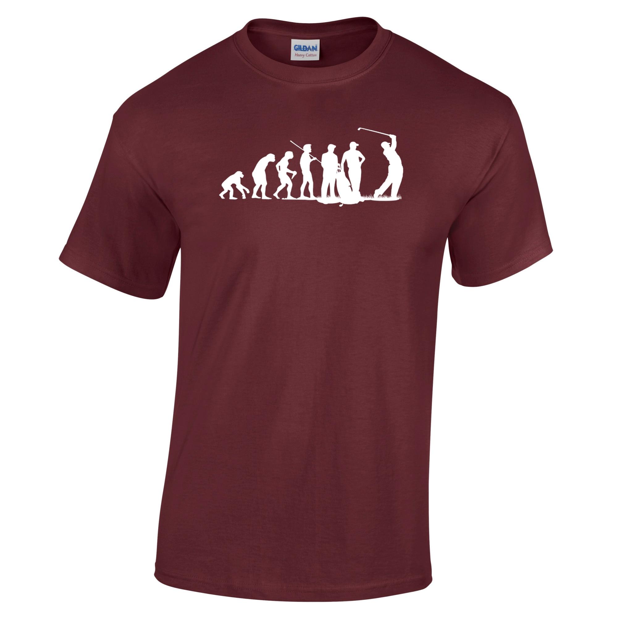 Evolution of a Golfer T Shirt Golfing Gift Funny Golfing Range[Apparel]