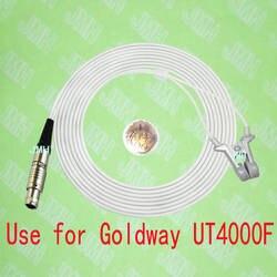 Совместимость с Goldway UT4000F Пульсоксиметр монитор, взрослых ухо клип SpO2 датчик, 5pin lemo мужской подключения, FGG