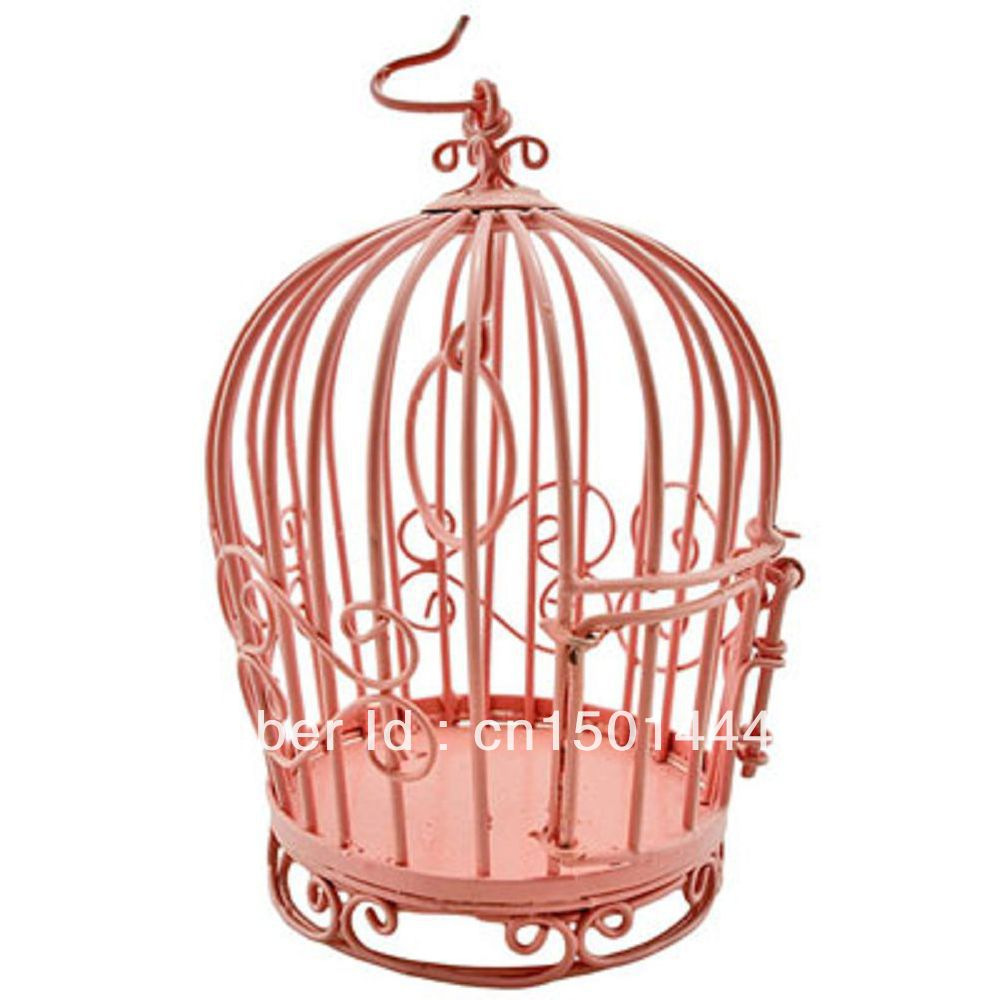 IRON WIRE BIRD CAGE DOLLHOUSE FURNITURE MINIATURES