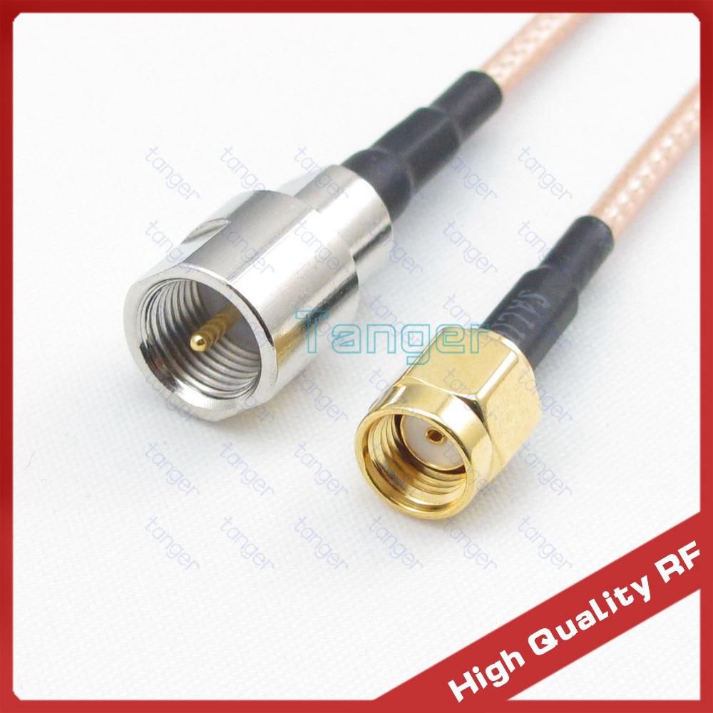 F male to F male plug RG316 RG-316 Coaxial Coax for TV Cable outlet Any Long Lot