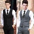 Vest Dress Men Formal Business Party Mens Dress Vest Suit Male Plus Size 4XL 5XL 6XL Colete Masculino Gilet Homme Vest Dress Men