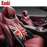 NEW 1pc Comfortable Car Waist Cushion For Toyota Corolla Avensis RAV4 Yaris Auris Hilux Prius Infiniti q50 FX35 G35 G37