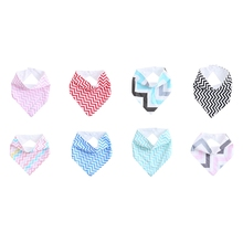 New 1Pc Infant Kids Baby Saliva Towel Triangle Head Scarf Bandana Dribble Feeding Bibs Gift