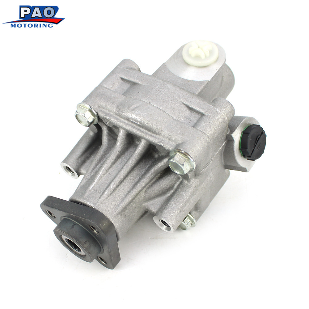 Power Steering Pump New Fit For Audi A6 100 1990-1994 C4 94-97 C5 94-05 OEM 048145155B 048145155F 048145155C 048145155FX Booster oem brand new power steering pump для 07 09 hyundai sonata 2 7l 57100 2b300
