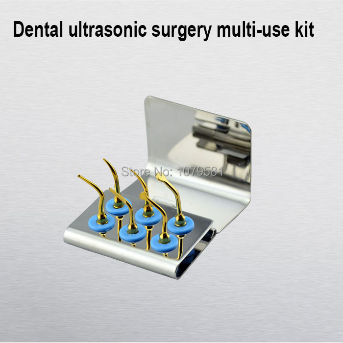 1 SET MSMUK dental surgery titanium tooth implant FIT Bone surgery tips kits are optional for all brands of scalers in the world chapchal reconstruction surgery and traumatology hand surgery – bone and joint pathology