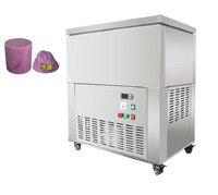 6 bloklar 8 blok 12 blok sürekli buz blok yapma makinesi satılık buz kırıcı|Dondurma makinesi|   -