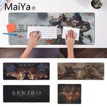 Игра Maiya sekiro прочный резиновый коврик для мыши большой коврик для мыши Аниме Коврик для мыши для ноутбука компьютерная клавиатура Коврик Настольный коврик