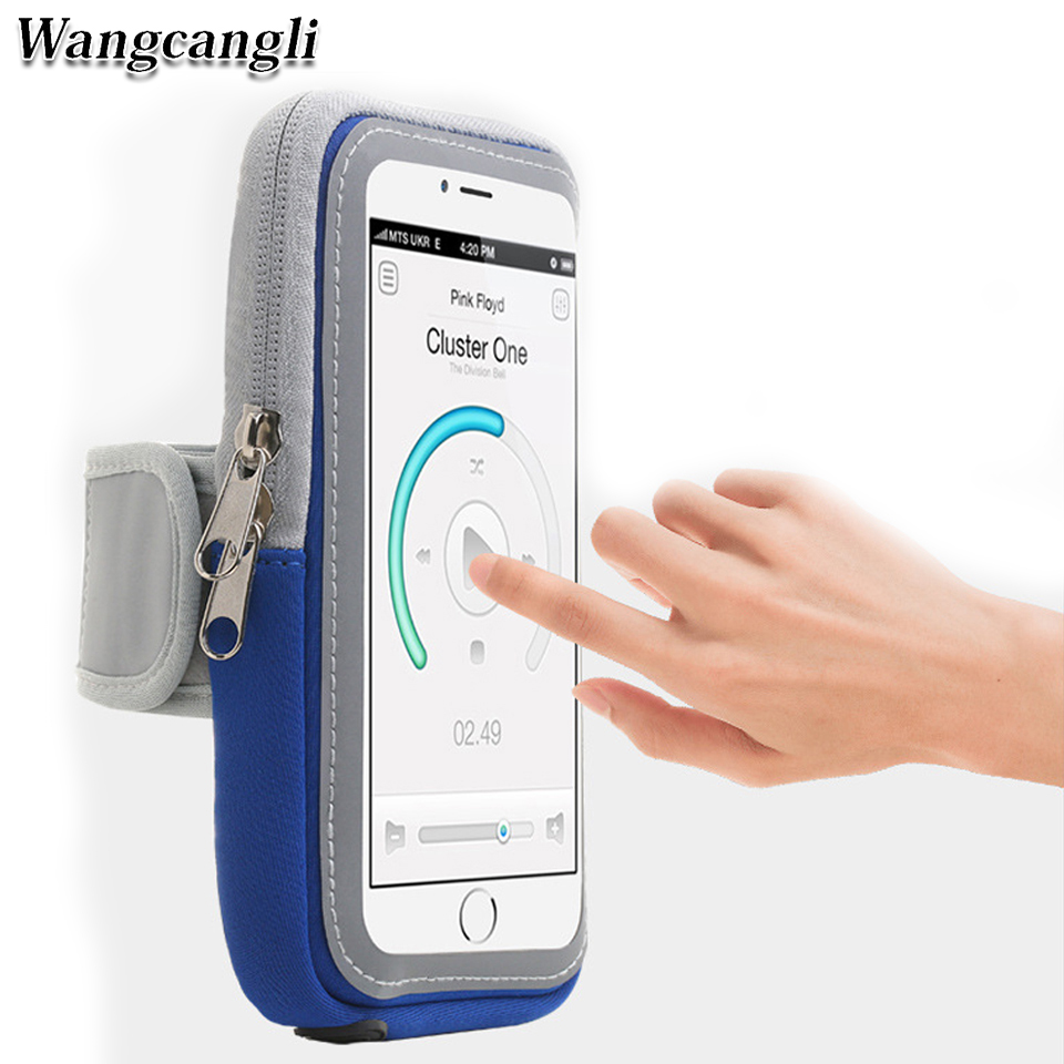 Mobile Motion Phone Armband Cover For Running Arm Band Holder Of The Phone On The Arm Case For 4-6 Inch Universal Arm Bag